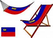 Liechtenstein Hammock And Deck Chair Set
