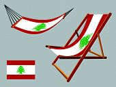 Lebanon Hammock And Deck Chair Set