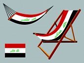 Iraq Hammock And Deck Chair Set
