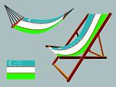 Uzbekistan Hammock And Deck Chair