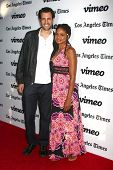 Kimberly Elise and James LaRosa at the