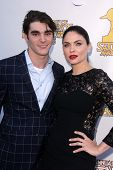 RJ Mitte and Jodi Lyn O'Keefe at the 39th Annual Saturn Awards, The Castaway, Burbank, CA 06-26-13