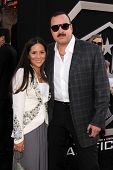 Aneliz Aguilar and Pepe Aguilar at the