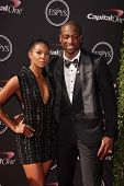 Gabrielle Union and Dwayne Wade at The 2013 ESPY Awards, Nokia Theatre L.A. Live, Los Angeles, CA 07