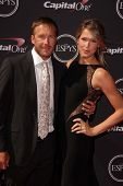 Bodi Miller and Morgan Miller at The 2013 ESPY Awards, Nokia Theatre L.A. Live, Los Angeles, CA 07-1