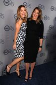 Sasha Alexander and Lorraine Bracco at the TNT 25th Anniversary Party, Beverly Hilton Hotel, Beverly