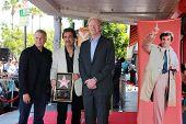 Paul Reiser, Joe Mantegna, Ed Begley Jr. at the Peter Falk Star on the Hollywood Walk of Fame Ceremony, Hollywood, CA 07-25-13
