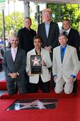Joe Mantegna with Ed Begley, Jr. and Paul Reiser at the Peter Falk Star on the Hollywood Walk of Fame Ceremony, Hollywood, CA 07-25-13