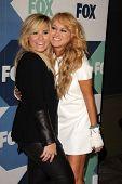 Demi Lovato and Paulina Rubio at the Fox All-Star Summer 2013 TCA Party, Soho House, West Hollywood, CA 08-01-13