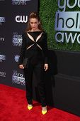 Alyssa Milano at the 15th Annual Young Hollywood Awards, Broad Stage, Santa Monica, CA 08-01-13