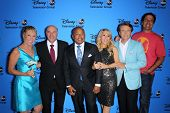 Barbara Corcoran, Daymond John, Kevin O'Leary, Lori Greiner, Robert Herjavec and Mark Cuban at the Disney/ABC Summer 2013 TCA Press Tour, Beverly Hilton, Beverly Hills, CA 08-04-13