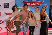 Lorenzo Lamas and family at the World Premiere Of Disney's Planes, El Capitan, Hollywood, CA 08-05-1