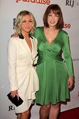 Julianne Hough and Diablo Cody at the DirecTV Premiere of