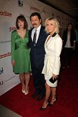 Diablo Cody, Nick Offerman and Julianne Hough at the DirecTV Premiere of