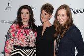 Stephenie Meyer, Jerusha Hess and Shannon Hale at the