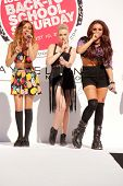 Jade Thirwall, Perrie Edwards and Jesy Nelson at Teen Vogue's Back-To-School Saturday Kick-Off Event, The Grove, Los Angeles, CA 08-09-13