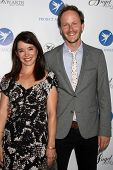 Marguerite Moreau and Christopher Redman at the Project Angel Food Angel Awards, Project Angel Food,