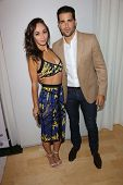 Cara Santana and Jesse Metcalfe at the 12th Annual InStyle Summer Soiree, Mondrian, West Hollywood,