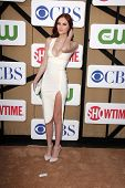 Alyssa Campanella at the CBS, Showtime, CW 2013 TCA Summer Stars Party, Beverly Hilton Hotel, Beverl