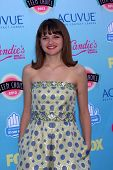 Joey King at the 2013 Teen Choice Awards Arrivals, Gibson Amphitheatre, Universal City, CA 08-11-13