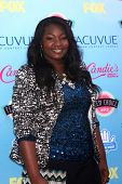 Candice Glover at the 2013 Teen Choice Awards Arrivals, Gibson Amphitheatre, Universal City, CA 08-1