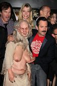 Riki Lindhome, Thomas Lennon and Paul Scheer at the