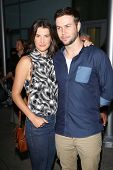 Cobie Smulders and Taran Killam at the