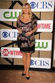 Jennifer Coolidge at the CBS, Showtime, CW 2013 TCA Summer Stars Party, Beverly Hilton Hotel, Beverl