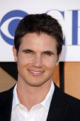 Robbie Amell at the CBS, Showtime, CW 2013 TCA Summer Stars Party, Beverly Hilton Hotel, Beverly Hil