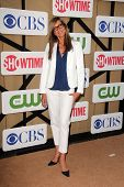 Allison Janney at the CBS, Showtime, CW 2013 TCA Summer Stars Party, Beverly Hilton Hotel, Beverly H