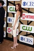 Alyssa Campanella at the CBS, Showtime, CW 2013 TCA Summer Stars Party, Beverly Hilton Hotel, Beverly Hills, CA 07-29-13