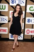 Kat Dennings at the CBS, Showtime, CW 2013 TCA Summer Stars Party, Beverly Hilton Hotel, Beverly Hil