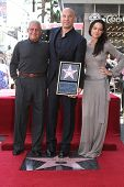 Ron Meyer, Vin Diesel and Michelle Rodriguez at the Vin Diesel Star on the Hollywood Walk of Fame Ceremony, Hollywood, CA 08-26-13