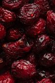 Dried Cranberries Cranberry Fruit As Background