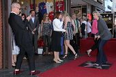 Ryan Murphy and Jane Lynch at the Jane Lynch Star on the Hollywood Walk of Fame Ceremony, Hollywood,