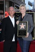 Ryan Murphy, Jane Lynch at the Jane Lynch Star on the Hollywood Walk of Fame Ceremony, Hollywood, CA