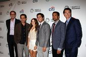 Rob Greenberg, Tony Shalhoub, Rebecca Breeds, Chris Smith, Kal Pen and Jerry O'Connell at the PaleyF