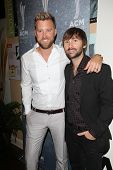 Charles Kelley and Dave Haywood at the 7th Annual ACM Honors, Ryman Auditorium, Nashville, TN 09-10-