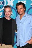 Len Wiseman and Alex Kurtzman at the 2013 FOX Fall Eco-Casino Party, The Bungalow, Santa Monica, CA