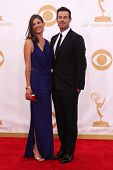 Carson Daly and Siri Pinter at the 65th Annual Primetime Emmy Awards Arrivals, Nokia Theater, Los An