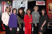 Ilene Graff, Geri Jewell, Judy Tenuta, Dawn Wells, Michael Learned and Kate Linder at