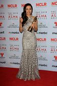 Aimee Garcia at the 2013 NCLR ALMA Awards Press Room, Pasadena Civic Auditorium, Pasadena, CA 09-27-