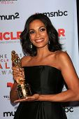 Rosario Dawson at the 2013 NCLR ALMA Awards Press Room, Pasadena Civic Auditorium, Pasadena, CA 09-2