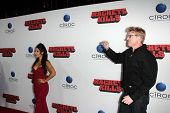 Kea Ho and Jake Busey at the