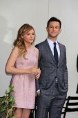 Chloe Grace Moretz and Joseph Gordon-Levitt at Julianne Moore's Star on the Hollywood Walk of Fame C