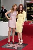 Chloe Grace Moretz and Julianne Moore at Julianne Moore's Star on the Hollywood Walk of Fame Ceremony, Hollywood Walk of Fame, Hollywood, CA 10-03-13