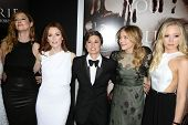 Judy Greer, Julianne Moore, Kimberly Peirce, Chloe Grace Moretz and Portia Doubleday at the