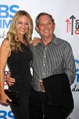 Sharon Case, father Jim Case at the CBS Daytime After Dark Event, Comedy Store, West Hollywood, CA 1