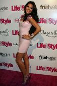 Joyce Giraud at the Hollywood In Bright Pink, Bagatelle LA, West Hollywood, CA 10-09-13