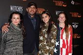 Kyle Richards and family at the 8th Annual LA Haunted Hayride Premiere Night, Griffith Park, Los Angeles, CA 10-10-13